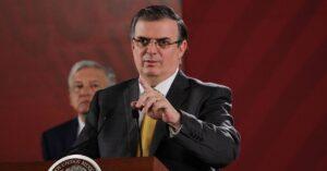 Marcelo Ebrard: México iniciaría vacunación contra COVID-19 en diciembre