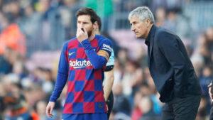 Bronca entre Messi y Quique: 'Si no te gusta lo que digo, ahí tienes la puerta'