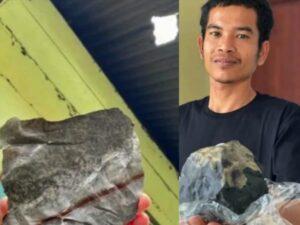 Cae meteorito sobre su casa y se vuelve millonario (VIDEO)