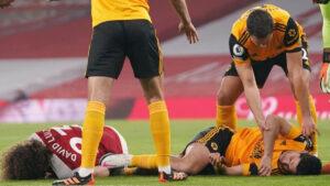 Raúl Jiménez sufrió fractura de cráneo; ya fue operado