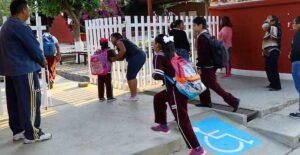 Así se ve el regreso a clases en enero, ante rebrote de covid en Tamaulipas