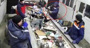 Hombre salva a gatito de morir en máquina trituradora