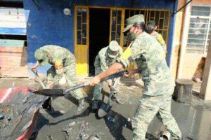 El Ejército y Fuerza Aérea Mexicanos continúan aplicando incansablemente el Plan DN-III-E, beneficiando a más de 740,000 personas en Tabasco