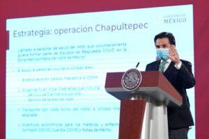Presenta IMSS Operación Chapultepec, es un llamado a la solidaridad con personal médico y de enfermería que atiende COVID-19