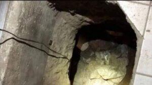 Estilo Chapo: Albañil construye túnel para visitar a su amante