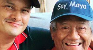 Hijo de Armando Manzanero dijo que su padre se cansó: salió y organizó fiesta sin cubrebocas