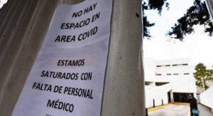 IMSS registra la máxima ocupación por covid a nivel nacional