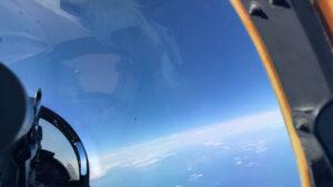 Filtran imagen del Pentágono donde aparece un OVNI sobre el Atlántico