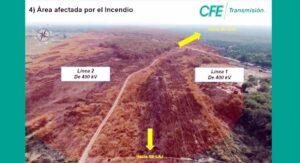 Un incendio en pastizales de Tamaulipas provocó el apagón nacional: CFE
