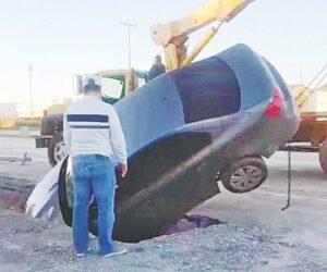 Paga Pueblo mal trabajo en obras del Municipio en Nuevo Laredo