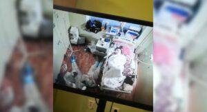 Médicos duermen junto a paciente para velar ataques de pánico