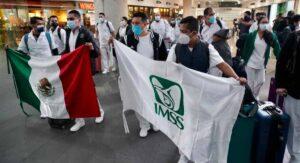 Médicos del IMSS llegan a CDMX para Operación Chapultepec