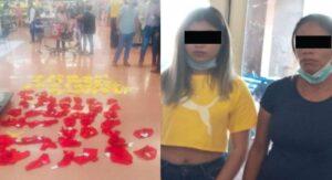 Intentan robar decenas de ropa interior roja y amarilla para despedir el año