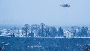 Evacuación masiva: Enorme socavón destruye casas y deja personas desaparecidas en Noruega