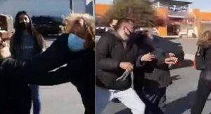 VIDEOS Les vale el covid: enloquecen y hasta pelean por pasteles de Costco