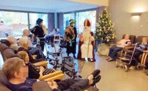 TRAGEDIA: Santa visita asilo; contagia a ancianos y provoca 18 muertos
