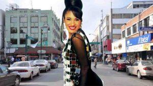 Selena Quintanilla en el centro histórico de Nuevo Laredo: FOTOS