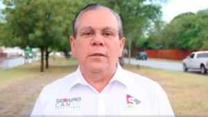 Muere ex alcalde de Reynosa Serapio Cantú por COVID-19