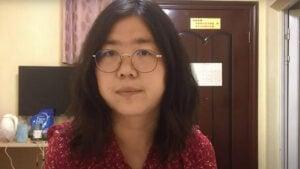 Condenan con 4 años de prisión a periodista que informó el inicio del brote de coronavirus en China