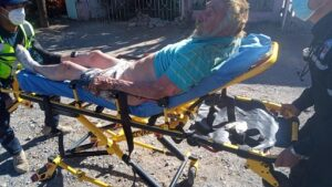Abuelito resulta quemado y se queda sin casa por incendio