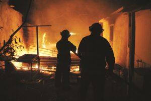 Incendio consume un cuarto