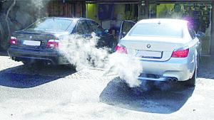 No deje el auto calentando