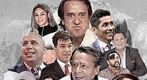 Actores, exfutbolistas, youtubers y hasta modelos quieren ser candidatos