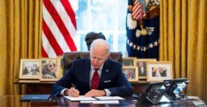 Biden presidente de Estados Unidos, ordenó un bombardeo en Siria
