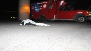 VIDEO: Atropellan a joven bajo el puente del Canseco
