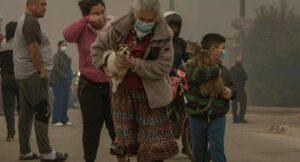 Incendio afecto a siete casas; residentes rescatan a sus mascotas en Tijuana