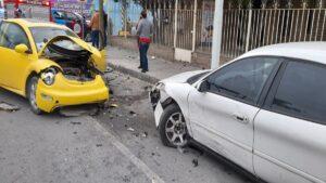 Encontronazo en Jesús Carranza y Campeche