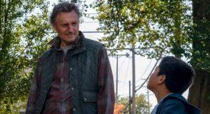 Liam Neeson presenta película de la vida en la frontera; critica política migratoria de Trump