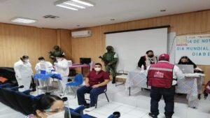 Servidores de la Nación participan en plan de vacunación