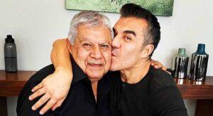 Padre de Adrián Uribe fallece de covid; conmovedor VIDEO de despedida