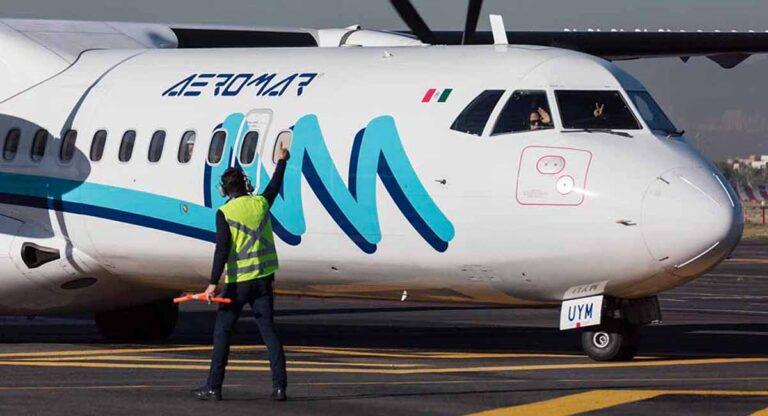 Aeromar suspende temporalmente su ruta Laredo, TX a CDMX