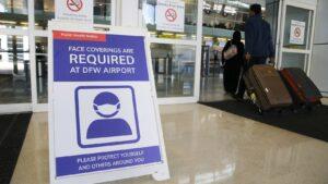 Aeropuertos de Texas pedirán prueba negativa de Covid a viajeros