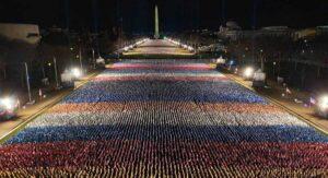 200 mil banderas representarán a ciudadanos en investidura de Biden