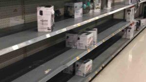 Escasean calentadores en centros comerciales de los Dos Laredos