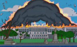 ¡Los Simpson lo hicieron de nuevo! Predijeron el asalto al Capitolio