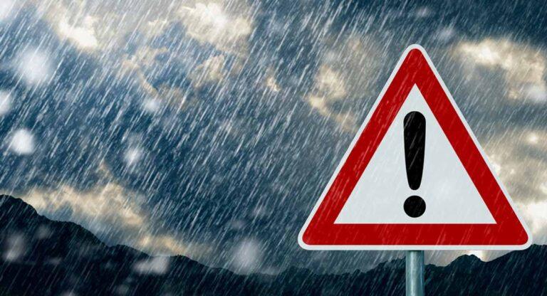 Clima frío y lluvioso se espera para las próximas 48 horas
