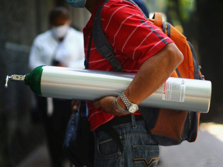 hombres armados roban tanque oxigeno