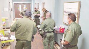 Vacunación voluntaria de agentes de Patrulla
