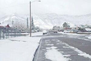 Tenga precaución,  carreteras con hielo