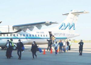 Pedirán prueba de Covid-19 a pasajeros
