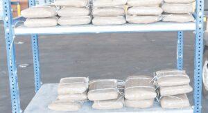 Confiscan 2.8 millones en droga de laboratorio