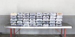 Decomisan droga valuada en 6.4 mdd