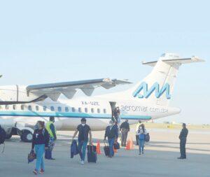 Paran temporalmente vuelos de Laredo, Texas a Ciudad de México