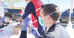 Llegan 5 mil vacunas contra el coronavirus