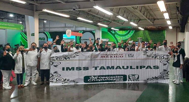 Médicos de Tamaulipas a punto de partir a Baja California
