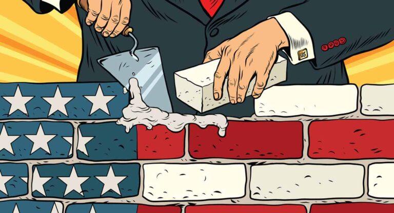 El muro incompleto de Trump